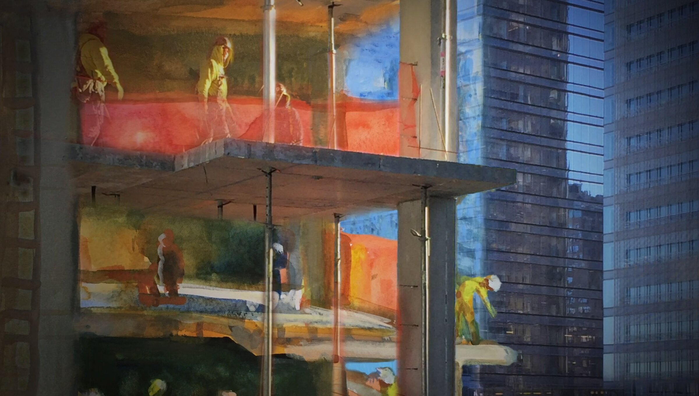 What will an artist paint when a new high-rise blocks her view of New York? | Psyche
