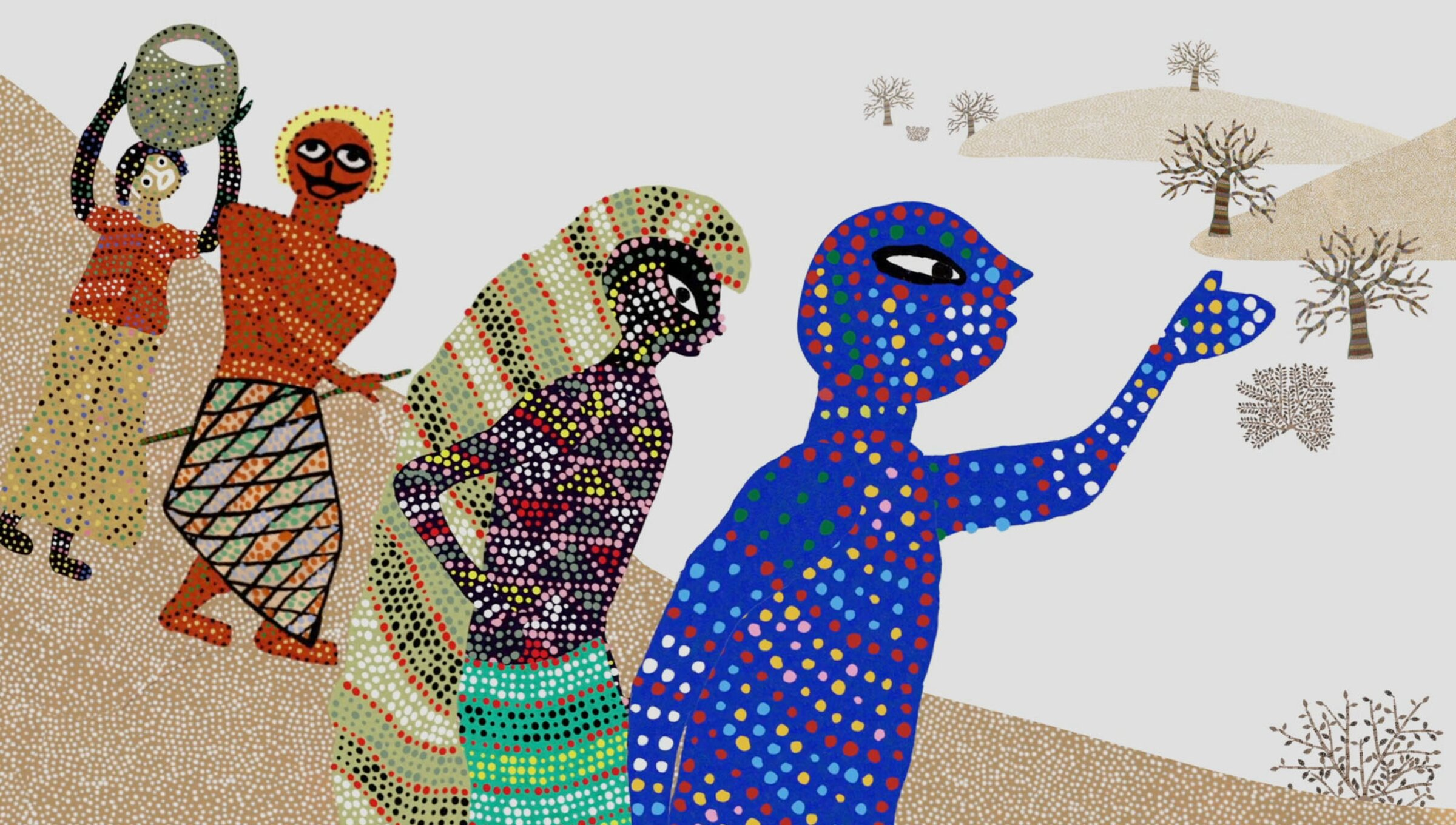 A joyously animated myth retells why painting is prayer to India's Bhil people | Psyche